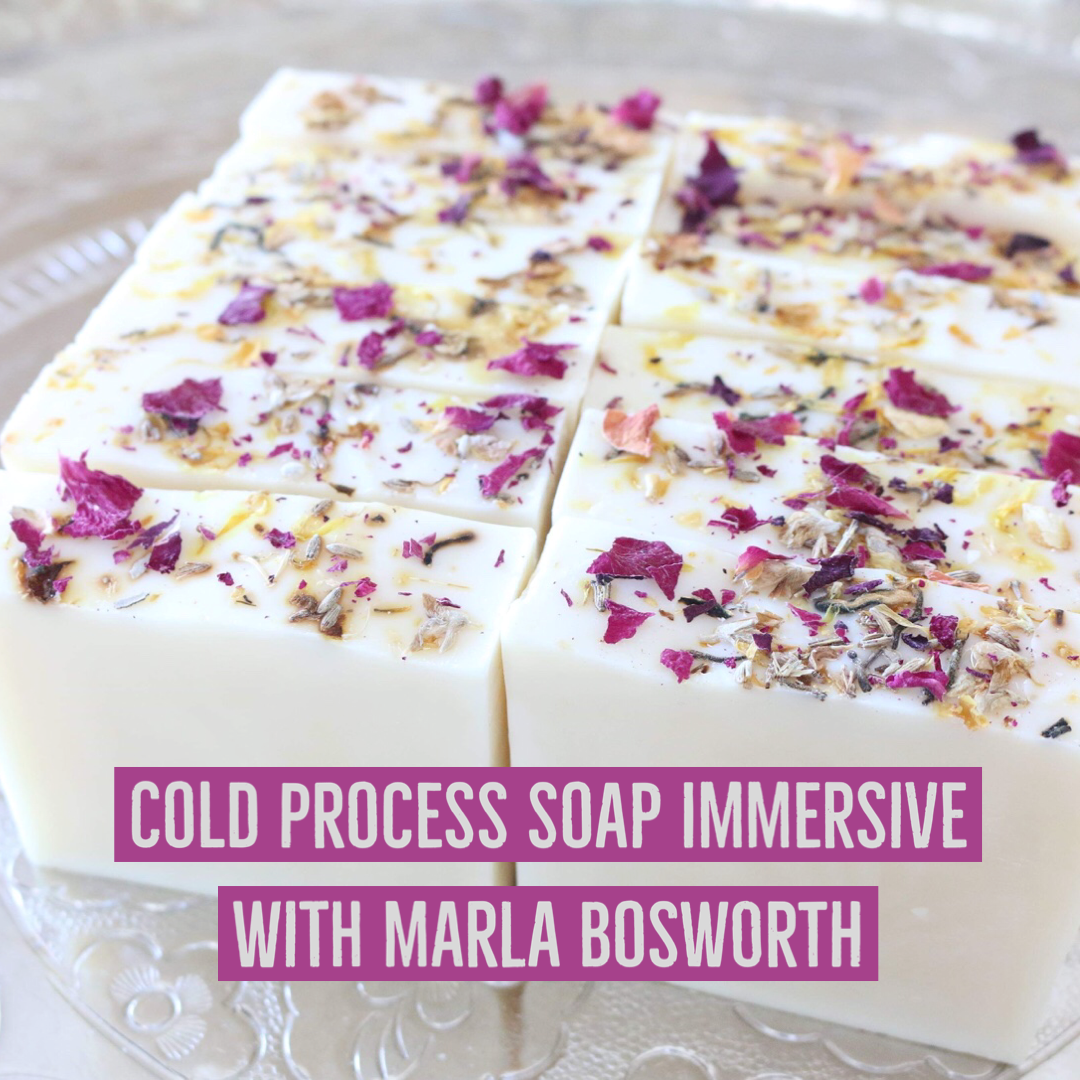 Masterclass: Design Your Own Cold Process Soap - Jan. 29