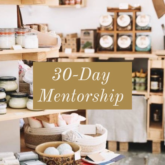 4-Week Mentorship & Coaching Program with Marla Bosworth